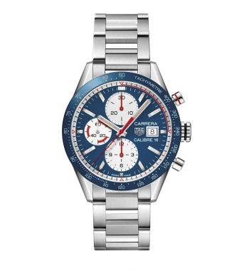 CARRERA AUTO CHRONO CAL 16 41MM QUAD. BLU
