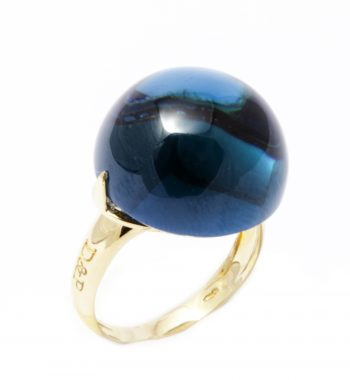 Anello Venere London Blue