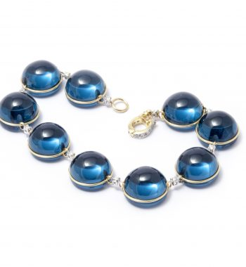 Bracciale Baby London Blue